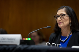 Photos From Senate Committee on Appropriations - Subcommittee on Interior, Environment, and Related Agencies hearing to examine proposed budget estimates and justification for fiscal year 2022 for the Department of the Interior
