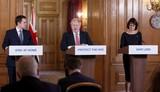 Photos From Coronavirus Press Briefing at Downing Street