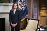 Photos From Amy Coney Barrett Capitol Hill Courtesy Call Shelley Moore