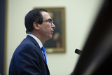 Photos From Mnuchin Testifies Before the U.S. House Committee on Financial Services