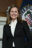 Photo - Amy Coney Barrett Capitol Hill Courtesy Call Marsha Blackburn