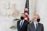 Photos From Supreme Court Justice Ruth Bader Ginsburg  Tribute in front of the Supreme Court