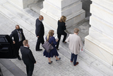 Photos From Justice Ruth Bader Ginsburg  Lies in State in the US Capitol