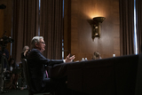 Photos From Jerome H. Powell, Chairman, Board of Governors of the Federal Reserve System appears before a Senate Committee on Banking, Housing, and Urban Affairs hearing