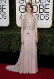 Photo - 08 January 2016 - Beverly Hills California - Emma Stone74th Annual Golden Globe Awards held at the Beverly Hilton Photo Credit HFPAAdMedia