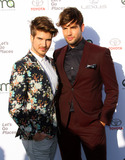 Photo - 23 September 2017 - Santa Monica California - Joey Graceffa and Daniel Preda 27th Annual EMA Awards Hosted by Jaden Smith held at Barker Hangar In Santa Monica Photo Credit AdMedia