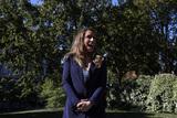 Photo - Alyssa Farah Speaks with Reporters