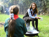 Photo - Kate Duchess of Cambridge Visits Northolt Scout Group