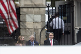 Andrew Cuomo Photo - New York State Governor Andrew Cuomo arrives to the the White House in Washington DC US for an Oval Office meeting with United States President Donald J Trump on Thursday February 13 2020 Credit Stefani Reynolds  CNPAdMediaAdMedia
