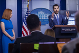 Photo - White House daily press briefing