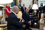 Photo - President Trump Meets Benjamin Netanyahu in the Oval Office