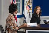 Photos From Vice President Kamala Harris Leads a Virtual COVID Summit