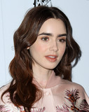 Photo - 12 January 2016 - Los Angeles California - Lily Collins Stella McCartney Autumn 2016 Collection Event held at Amoeba Music Hollywood Photo Credit AdMedia