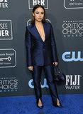 Aimee Carrero Photo - 12 January 2020 - Santa Monica California - Aimee Carrero 25th Annual Criticis Choice Awards - Arrivals held at Barker Hangar Photo Credit Birdie ThompsonAdMedia