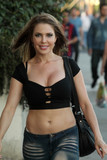 Photos From HBO Star Erika Jordan Street Sighting