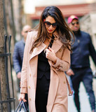 Photos From Amal Clooney is seen in New York City