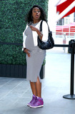 Photos From Tatyana Ali is seen in Los Angeles, CA