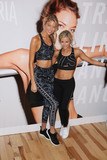 Photo - Photo by John NacionstarmaxinccomSTAR MAXCopyright 2018ALL RIGHTS RESERVEDTelephoneFax (212) 995-119691818Martha Hunt and Andrea Rogers at the Train Like A Victorias Secret Angel event in New York City(NYC)