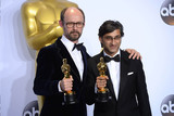 Asif Kapadia Photo - Photo by PDstarmaxinccomSTAR MAXCopyright 2016ALL RIGHTS RESERVEDTelephoneFax (212) 995-119622816Asif Kapadia and James Gay-Rees with the Oscar for Documentary Feature for Amy at the 88th Annual Academy Awards (Oscars)(Hollywood CA USA)