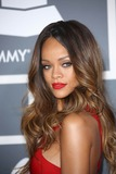 Photo - Rihanna   at the 55th Grammy Awards-Arrivals  held at the Los Angeles Convention Center