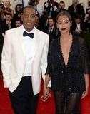 Photo - Photo by DPAADstarmaxinccomSTAR MAX2014ALL RIGHTS RESERVEDTelephoneFax (212) 995-11965514Jay-Z and Beyonce Knowles at The Costume Institute Benefit Gala(Metropolitan Museum of Art NYC)