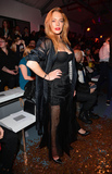 Photo - Photo by KGC-42starmaxinccomSTAR MAXCopyright 2015ALL RIGHTS RESERVEDTelephoneFax (212) 995-119691915Lindsay Lohan is seen at the Gareth Pugh Runway Show during London Fashion Week SS16(London England UK)
