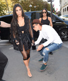 Photo - Photo by KGC-195starmaxinccomSTAR MAXCopyright 2016ALL RIGHTS RESERVEDTelephoneFax (212) 995-119692816Celebrity prankster Vitalii Sediuk strikes again - this time grabbing Kim Kardashian outside LAvenue Restaurant  Sediuk has physically accosted a number of celebrities - gaining access to otherwise restricted areas with the use of press credentials from his former employer Ukrainian Television TV Channel 11(Paris France)