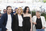 Roman Polanski Photo - CANNES FRANCE - MAY 27 Vincent Perez actresses Emmanuelle Seigner Eva Green and director Roman Polanski attend the Based On A True Story Photocall during the 70th annual Cannes Film Festival at Palais des Festivals on May 27 2017 in Cannes France (Photo by Laurent KoffelImageCollectcom)