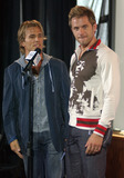 AARON BENWARD Photo - NEW YORK SEPTEMBER 7 2005    Scott Reeves and Aaron Benward at the 2005 CMA Country Awards Press Conference held at Stone Rose Time Warner Center