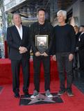 Photo - David Duchovny Star Ceremony