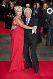 Lionel Blair Photo - Denise Welch and Lionel Blair arriving the UK Premiere of Run for your Wife Odeon Cinema Leicester Square London 05022013 Picture by Simon Burchell  Featureflash