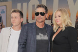 Photo - John Owen Lowe Rob Rowe Sheryl Berkoff 07222019 The Los Angeles Premiere of Once Upon A Time In Hollywood held at the TCL Chinese Theatre in Los Angeles CA Photo by Izumi Hasegawa  HollywoodNewsWireco