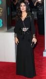 Photo - London UK Salma Hayek at EE British Academy Film Awards 2018 - Red Carpet Arrivals at the Royal Albert Hall London on Sunday February 18th 2018 Ref LMK73 -J1591-190218Keith MayhewLandmark Media WWWLMKMEDIACOM