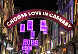 Photos From Carnaby Street Christmas lights 2020