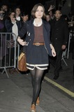 Photos From Keira Knightley Departing the Comedy Theatre