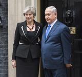 Photos From Benjamin Netanyahu visit  - Downing Street photocall