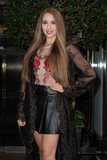 Afton McKeith Photo - London UK Afton McKeith at KISS Nails and Lashes x Billie Faiers - launch party at The Marylebone Hotel in London Thursday 16th August 2018Ref LMK73-J2504-170818Keith MayhewLandmark MediaWWWLMKMEDIACOM