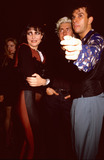 Photo - London UK LIBRARY Steve Strange and  Siouxsie Sioux   (of the Banshees) with Budgie  out and about Mid 1980s ReCap29092020 RefLMK11-SLIB290920-001PIP-Landmark MediaWWWLMKMEDIACOM