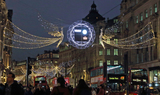 Photo - London UK Christmas Lights in  Regent  Street London  16 November 2018 RefLMK73-S1931-171118 Keith MayhewLandmark Media WWWLMKMEDIACOM