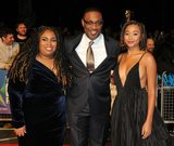 Angie Thomas Photo - London UK  Angie Thomas George Tillman Jr and Amandla Stenberg    at  the Special Presentation and European Premiere of The Hate U Give  at The 62nd BFI London Film Festival at Cineworld Leicester Square London England UK on Saturday 20 October 2018 Ref  LMK315-S1697-211018Can NguyenLandmark MediaWWWLMKMEDIACOM