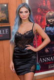 Carrington Durham Photo - WESTWOOD LOS ANGELES CALIFORNIA USA - JUNE 20 Carrington Durham arrives at the Los Angeles Premiere Of Warner Bros Annabelle Comes Home held at Regency Village Theatre on June 20 2019 in Westwood Los Angeles California United States (Photo by Rudy TorresImage Press Agency)