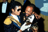 Photo - Michael Jackson and Quincy Jones Photo Globe Photos Inc