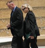 Gregory Peck,Lauren Bacall Photo - Gregory Peck Funeral