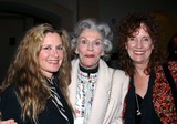 Nan Martin Photo - I7428CHW 26TH ANNUAL ROBBY AWARDS - HONORING DISTINGUISHED ACHIEVEMENT IN THEATRE FOR 2002 (SECOND OLDEST THEATRE AWARD IN LOS ANGELES)ROOSEVELT HOTEL HOLLYWOOD CA02242003PHOTO BY CLINTON H WALLACE  IPOL  GLOBE PHOTOS INC  2003STEPHANIE ZIMBALIST NAN MARTIN AND JENNY SULLIVAN